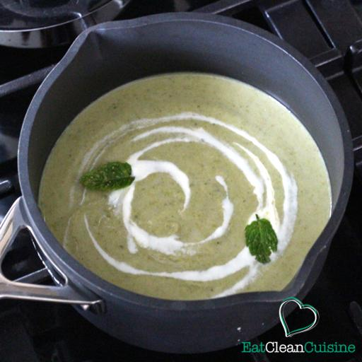 Broccoli and Mint Soup