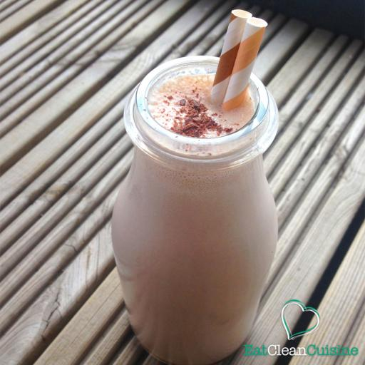 Peanut Butter and Chocolate Milkshake