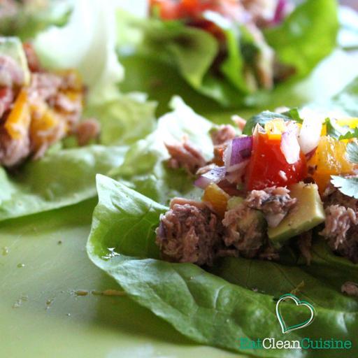Lettuce & Tuna Spice Boats